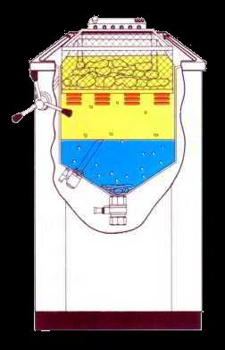 Freidora de agua y aceite