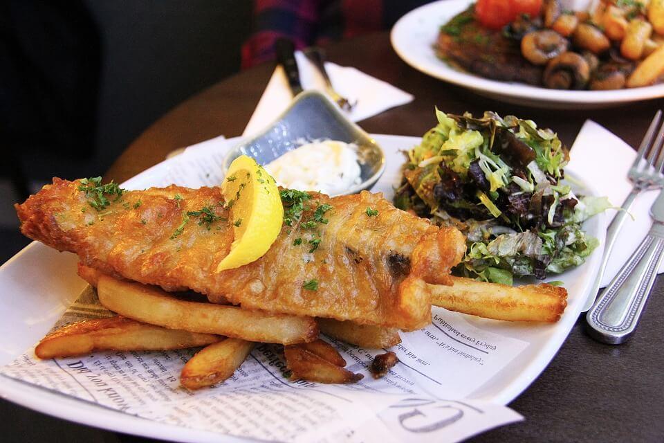 Filete de Pescado frito en freidora de aire