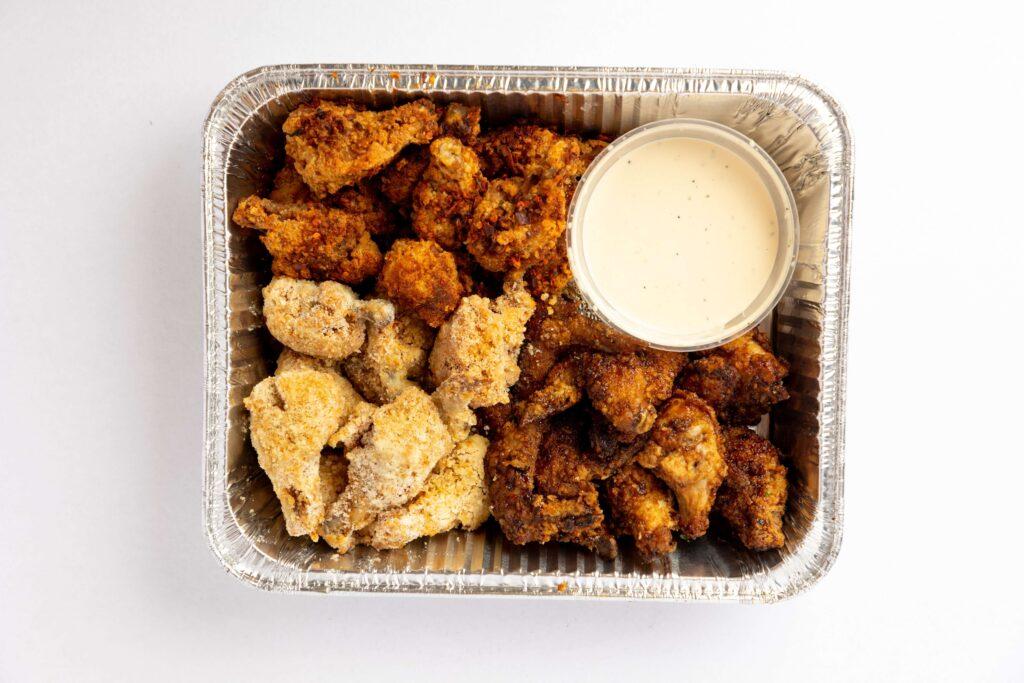 receta alitas de pollo en freidora de aire